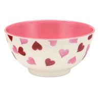 See more information about the Pink Hearts Melamine Bowl