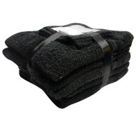 See more information about the Toronto Bath Towel Bale 10 Piece Set (Black)