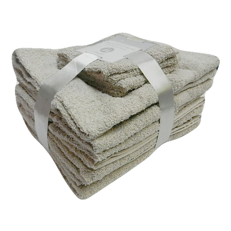 Toronto Bath Towel Bale 10 Piece Set (Mocha)