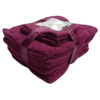 See more information about the Toronto Towel Bale 10 Piece Set (Raspberry)