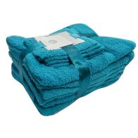 See more information about the Toronto Bath Towel 10 Piece Bale Set (Teal)