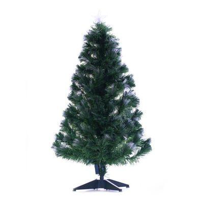 120cm Starburst Fibre Optic LED Christmas Tree - Green