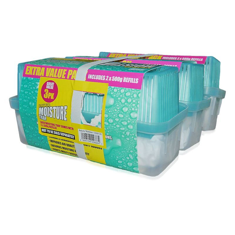3 Pack Home Moisture Traps