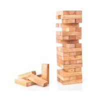 See more information about the 48 Pieces Tumbling Tower