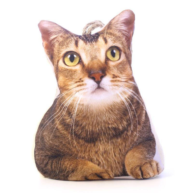 Animal design door stopper tabby cat buy online at qd stores - Cat door stoppers ...