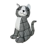See more information about the Plaid Sitting Cat Design Door Stop