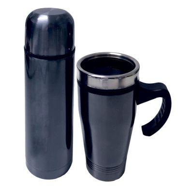 Flask and Mug Travel Set