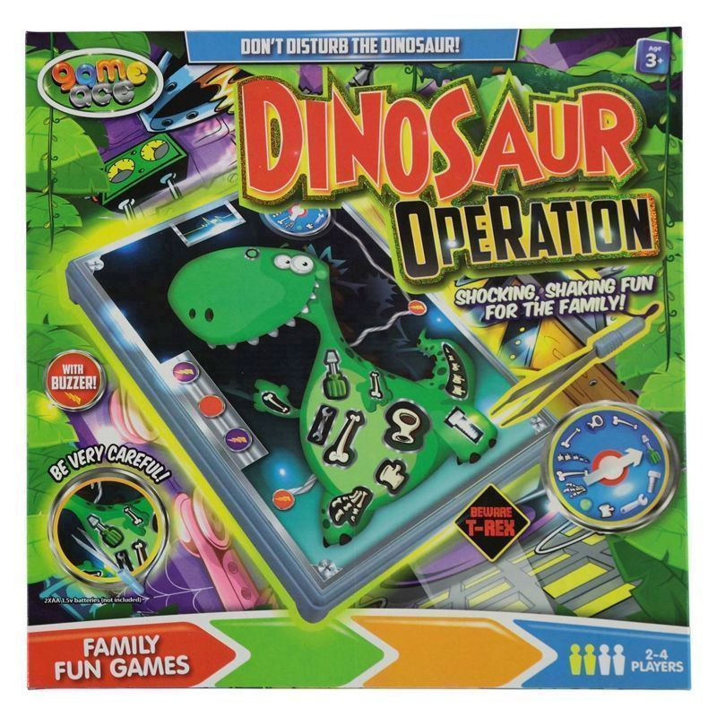 Fun Dinosaur Operation Game