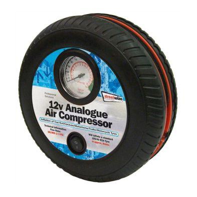 12v Air Compressor - Tyre Shape with Gauge