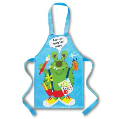 Kids PVC Apron Monster