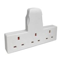 See more information about the 3 Way Cable Free Socket White