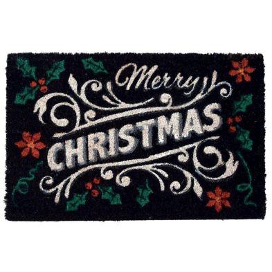 Christmas Mat Coir 40 x 60cm - Merry Christmas