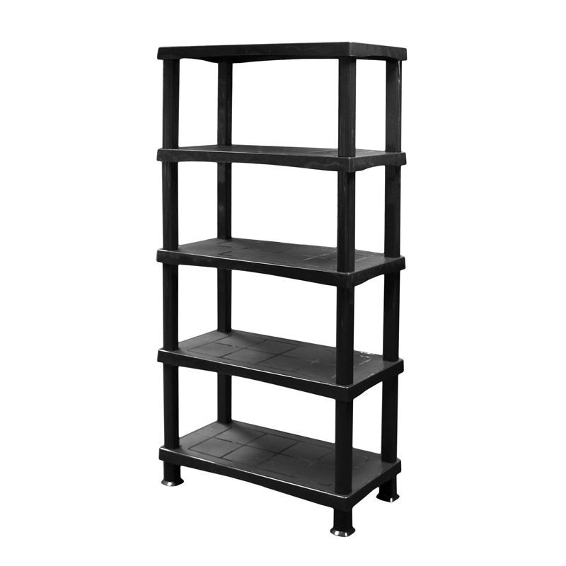 diy shelving system | 5 Tier Home DIY Storage Shelving System - Buy Online at QD ...