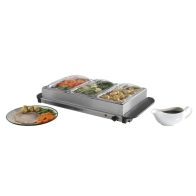 See more information about the Three Tray Buffer Server Hot Plate