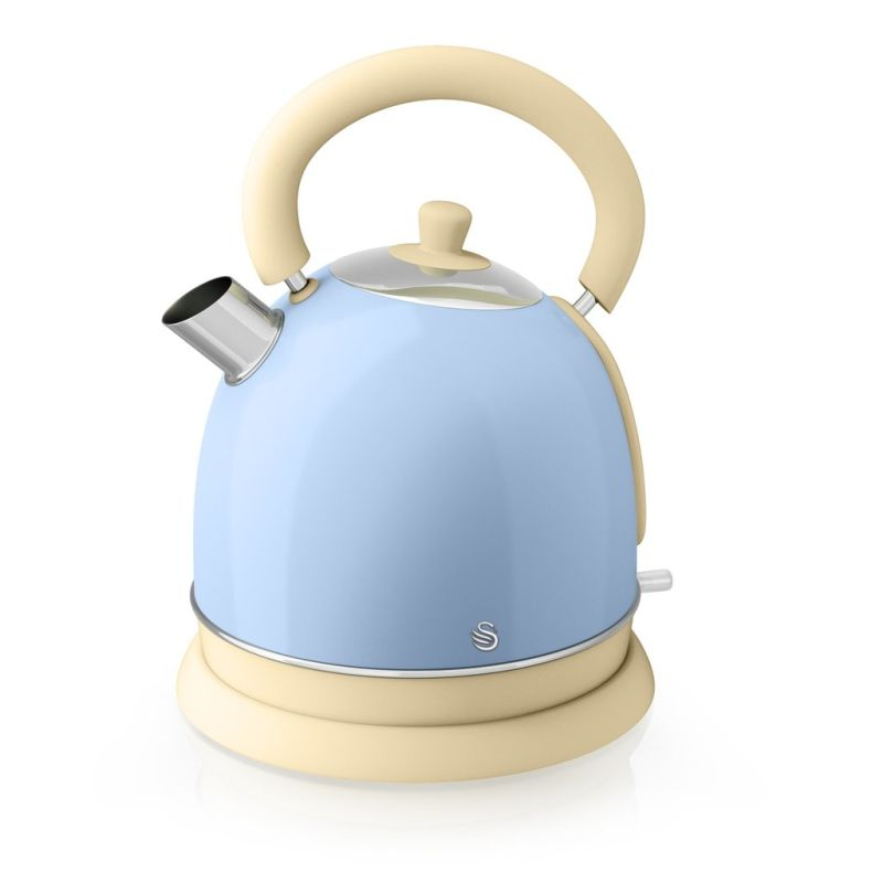 1.8 Litre Retro Dome Kettle Blue