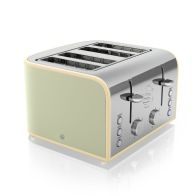 See more information about the 4 Slice Retro Toaster Green