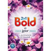 See more information about the Bold 2in1 Lavender and Camomile 40 Washes