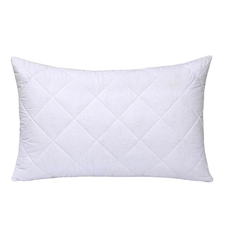 Quilted Pillow Protectors Anti-Allergy - 2 Pack