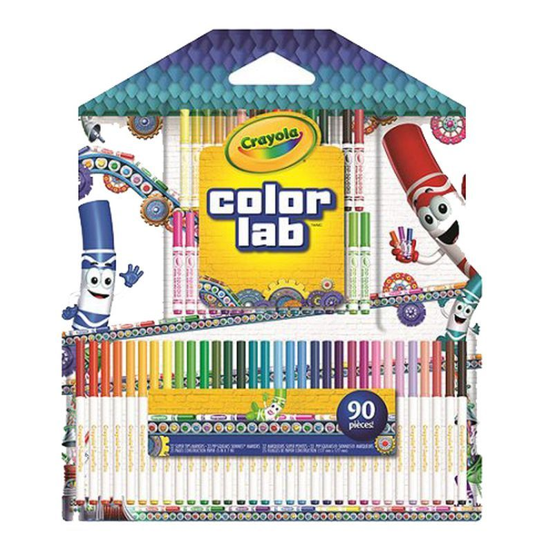 Crayola Colour Lab Markers Set