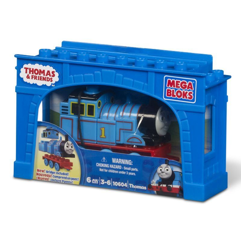 Thomas & Friends Mega Bloks Thomas the Tank Engine Toy