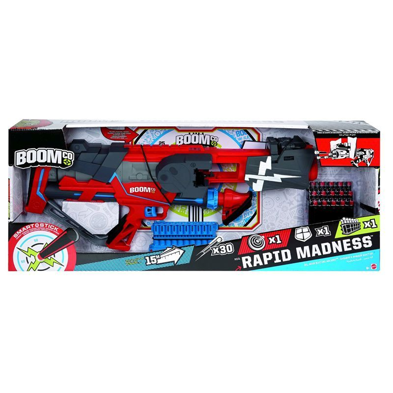 Boomco Rapid Madness Blaster Toy