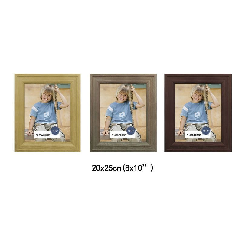 MDF Wood Grain Stylish Frame 8x10 Inch - Ash Wood