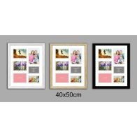 See more information about the Collage Picture Frame 40x50cm 6 Spaces - Black