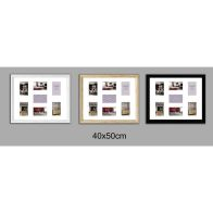 See more information about the Collage Picture Frame 40x50cm 7 Spaces - Black