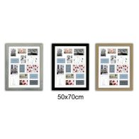 See more information about the Collage Picture Frame 50x70cm 14 Spaces - Black