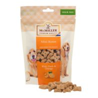 See more information about the Mini Bones With Duck & Orange Mr Miller (250g)