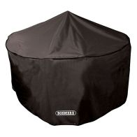 See more information about the 6/8 Seat Circular Patio Set Cover - Black