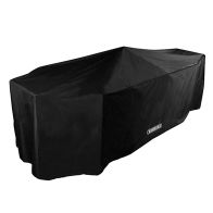 See more information about the Bosmere Storm 8 Seater Rectangular Patio Set Cover Black