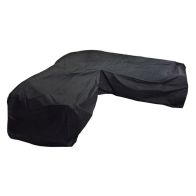 See more information about the Bosmere Modular Large L Shape Sofa Cover 2.5m x 2.5m Black