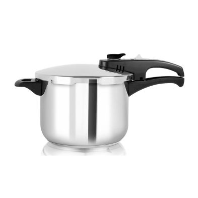 Pressure Cooker 6L Polished Stainless Steel (22cm)