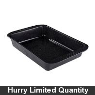 See more information about the Prestige Stone Quartz Anti-scratch Large Roaster Tin