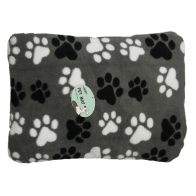 See more information about the 60x40cm Grey Paws Design Pet Mat