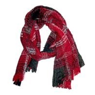 See more information about the Blanket Scarf - Red And Black Check