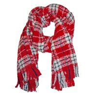 See more information about the Blanket Scarf - Red And White Check
