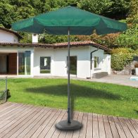 See more information about the 2.2m Green Aluminium Parasol