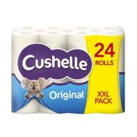 See more information about the Cushelle White Toilet Paper 24 Pack