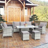 See more information about the Rattan Dining Furniture Set