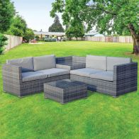 See more information about the Monaco 4 Piece Corner Group Set