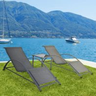 See more information about the Croft Saint Tropez 3 Piece Lounger Set
