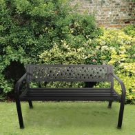See more information about the Steel Garden Bench