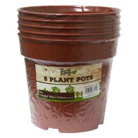 See more information about the Pack 5 14.5 cm (6inch) Grow T Plant Pots