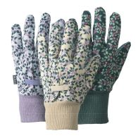 See more information about the Medium Cotton Gloves Birds & Branches 3 Pack