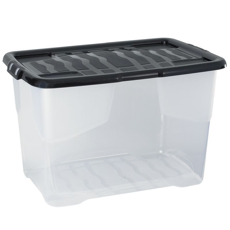 See more information about the 65 Litre Curve Box with Lid ...  sc 1 st  QD Stores & Large u0026 Small Cheap Storage Boxes - Buy Online at QD Stores