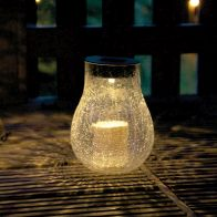 See more information about the Crackle Candle Effect Solar Light