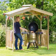 See more information about the Ashton Garden Barbeque Shelter