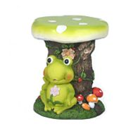 See more information about the Novelty Mushroom Animal Stool - Frog